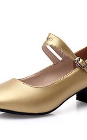 Sapatos de Dança(Preto / Vermelho / Prateado / Dourado) -Feminino-Não Personalizável-Moderna