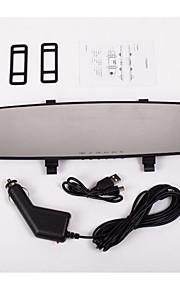 den hvide Lanjing bil bakspejl fartskriver 1080p hd
