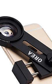 Orea telefon makroobjektiv 12,5 telefon plug universelle mobiltelefon kamera med et stativ klemme