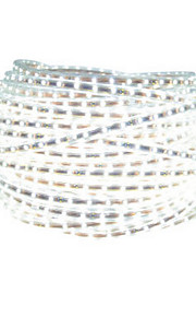 1 5 M 600 3528 SMD Blanc chaud / Blanc Découpable / Connectible / Auto-Adhésives W Bandes Lumineuses LED Flexibles DC12 V