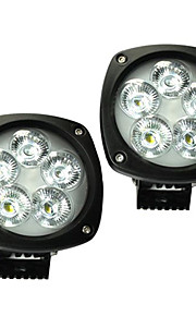 2 stuks 4,3 '' 50w Cree LED 6900lm LED verlichting IP68 geleid werklamp voor suv truck 4x4