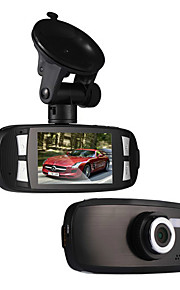 Novatek g1w bil dvr 2.7 '' HD 1080p 1200W køretøj digitalt videokamera videokamera med vidvinkel nattesyn