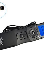 Sidande® 7104 LCD Time Lapse Intervalometer Remote Control Timer Shutter Release for Nikon D800 / D700 / D300