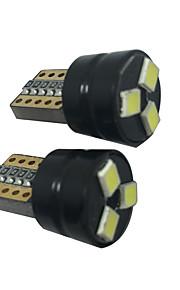 2 stuks t10 1.5W led can-bus 5050 3SMD t10 leeslamp t10 led kentekenverlichting golf 5/6/7 geleid kentekenverlichting