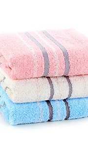 "1 PC Full Cotton Wash Towel 13"" by 13"" Super Soft Plaid Pattern"