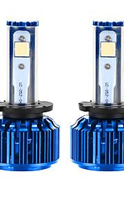liancheng® 60w 6000lm 9 ~ 32V hoge helderheid Cree cob leidde koplamp kit-d2 / d4 6k 8k voor auto, off-road, utv, atv