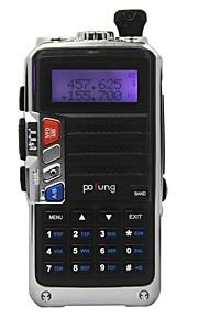 pofung uv-920 dual-band VHF UHF walkie talkie 128ch fm twee manier radio CTCSS DCS
