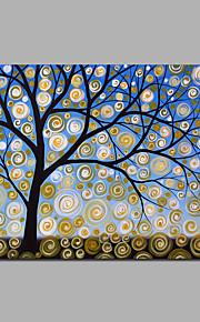 Money Tree Artwrok Modern Decorated Tree Artwork Stretchered