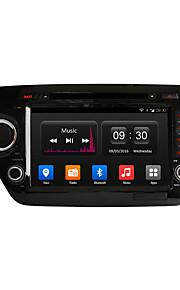 8 tommer 1024 * 600 in-dash bil dvd-afspiller GPS-navigation til kia k2 rio 2011-2012 med quad core android 4.4