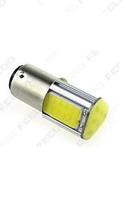 10 stuks 1157 1156ba15s 4cob 42smd richtingaanwijzer licht, back-up light wit DC12V