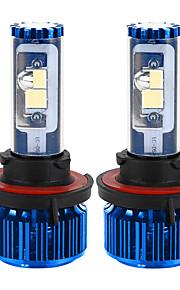 liancheng® 120w 10000lm 9 ~ 32V hoge helderheid Cree cob leidde koplamp kit-h13 / 9008 6k 8k voor auto, off-road, utv, atv