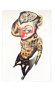 1pc Society Power Sun Wukong Monkey Arm Decal Women Men Body Art Temporary Tattoo Sticker HB-026