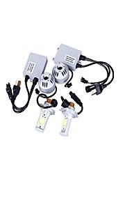 A Pair H4、H13、9004、9007 2CREE 36W White Car LED Headlamp,Fog light DC12-24V