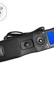 Sidande 7106 LCD Time Lapse Intervalometer Remote Control Timer Shutter Release for Nikon D600 / D7000 / D90