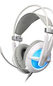 Somic G938 Høretelefoner (Pandebånd)ForComputerWithMed Mikrofon / DJ / Lydstyrke Kontrol / Gaming / Lyd-annulerende / Hi-Fi
