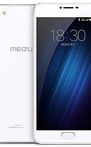MEIZU U20 5.5 Rear Glass Flyme OS 4G Smartphone (Dual SIM Octa Core 13 MP 2GB  16 GB Silver)
