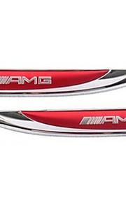 AMG etichetta adesiva auto piastra di foglia di metallo automobile il bastone lato