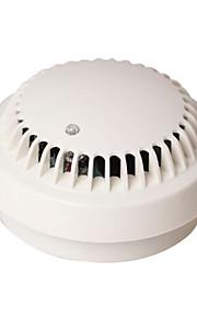 détecteur de fumée avec pile 9v et alarme de la lumière sonore indépendante et certification 3c