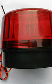 levering van 220 v hernia barstte knipperende rode lampjes knipperen bewaker tegen diefstal motorfiets zwaailichten