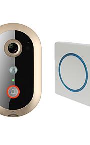 720P(1280*720),VGA(640*480),QVGA(320*240) 135~170° CMOS deurbelsysteem Draadloos Gefotografeerd / Opname