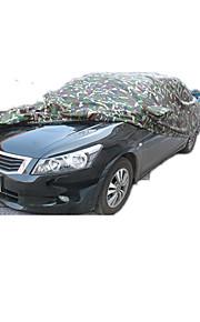 te voorkomen koesteren in de auto kap camouflage is drie doek autokap