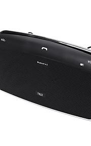 Bluetooth Automobiles Sun Visor Speaker In-Car Speakerphone Quality Handsfree Car Kit with DSP Car Kit HD Music Play