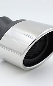 auto-uitlaatgassen uitlaat keel gewijzigd roestvrijstalen uitlaat speciale achtersteven buis