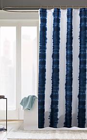 Современный Поли / хлопок смесь 70x72inch  -  Высокое качество Шторка для ванной