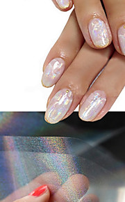 4 Nagel-Kunst-Aufkleber 3D Nails Nagelaufkleber Make-up kosmetische Nail Art Design
