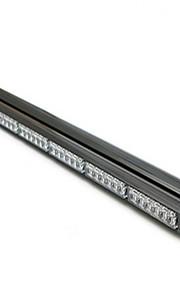 72LED strook dubbele flitser 216W strip bar lamp 90.5cm stroboscopisch licht in het dak