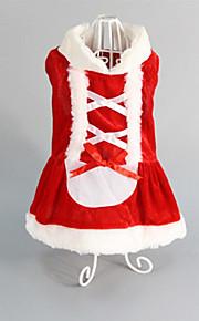 Perros Esmoquin Rojo Ropa para Perro Invierno / Primavera/Otoño Britsh Mantiene abrigado /