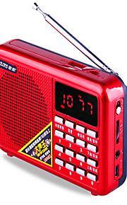 draagbare luidsprekers mp3 audio speler met radio voertuig