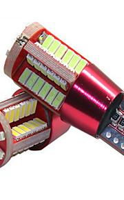 la lampada ampia nuovo display decodifica 57led t10-3014-57smd show car vasta lampadina luce targa