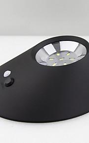 2w солнечной интегрированной энергосберегающих наружных светодиодных эллиптическую настенный светильник