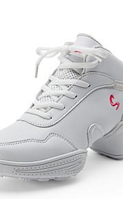 Sapatos de Dança(Preto / Branco) -Feminino-Não Personalizável-Tênis de Dança