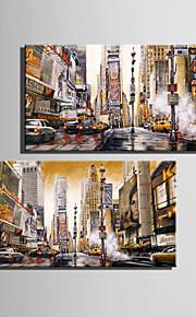 Paysage Toile Deux Panneaux Prêt à accrocher,Format Vertical