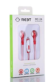 Neutral Product MC-24 Hoofdtelefoons (hoofdband)ForMediaspeler/tablet / Mobiele telefoon / ComputerWithmet microfoon / DJ / Volume