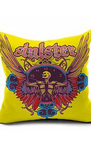 1 pcs Cotton/Linen Pillow Cover,Geometric Accent/Decorative / Modern/Contemporary