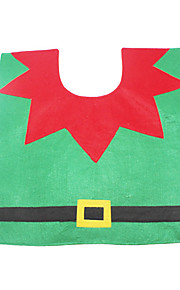 Joulukoristeet Lomatarvikkeet Pyöreät Tekstiili Harmaa Kaikki