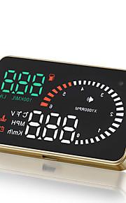 universal bil OBD2 ii hud head up display x6 3 tommer hastighedsoverskridelse varslingssystem projektor forrude auto elektronisk