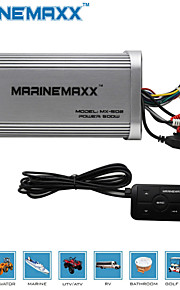 500W Marine Bluetooth Amplifier Motorcycle Home Auto MP3 Hi-Fi Stereo Audio Amplifier Sound System UTV RV Car ATV Boat  Audio