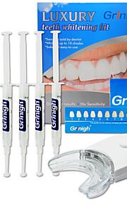 Grinigh Tannblekepenn / Teeth Whitening Kits Ikke testet på dyr Voksen Brun Plastic