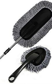 grijs wax brush twee - stuk car cleaning kit wax aanhangwagens handdoek telescopische wax aanhangwagens stofdoek