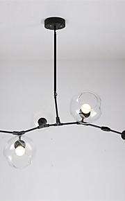 Max 60W מנורות תלויות ,  מסורתי/ קלאסי / סגנון חלוד/בקתה / רטרו / גס / וינטאג' צביעה מאפיין for סגנון קטן מתכתחדר שינה / חדר אוכל / חדר