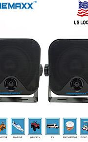 4 inch  Heavy Duty WaterProof Surface Mount Speakers for ATV Skidsteer Tractor Boat UTV Waterproof Marine Speakers