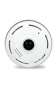 1.3 MP Kuppel Indendørs with Dag Nat / IR-cut 128(Dag Nat / Motion Detection / Fjernadgang / IR-klip / Wi-Fi Beskyttet Setup)