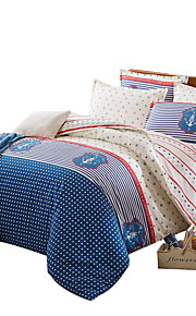 Mingjie  Wonderful Blue and Rice Bedding Sets 4PCS for Twin Full Queen King Size from China Contian 1 Duvet Cover 1 Flatsheet 2 Pillowcases