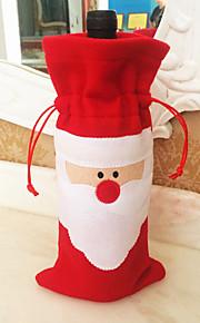1pc סנטה קלאוס חג המולד מתנה שקית מתנה לחג המולד מתנות חג המולד