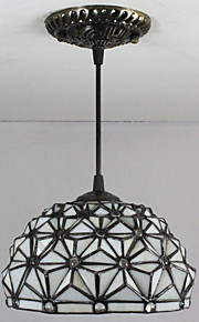 25W מנורות תלויות ,  Tiffany / וינטאג' צביעה מאפיין for סגנון קטן זכוכית חדר שינה / כניסה