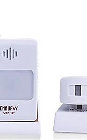 CMF-101 ABS Ikke-visuelle doorbell Trådløs dørklokken Systems
